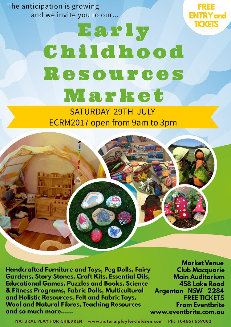 ECRM2017 the perfect market for Early Childhood Professionals, Families and the young at heart.