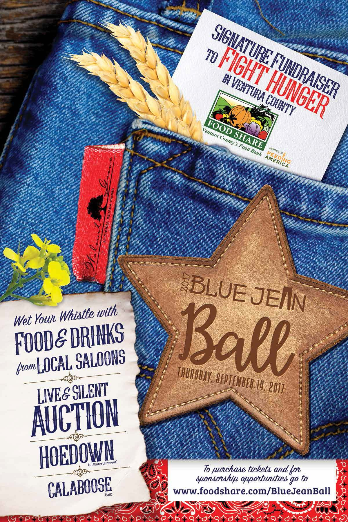 Farmers Auto Insurance >> Blue Jean Ball - FOOD Share's Signature Fundraiser Tickets, Thu, Sep 14, 2017 at 5:00 PM ...