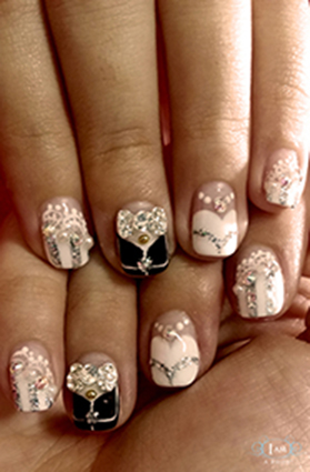Custom Bridal Nail