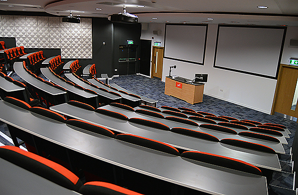 Interior view of conference room SW105