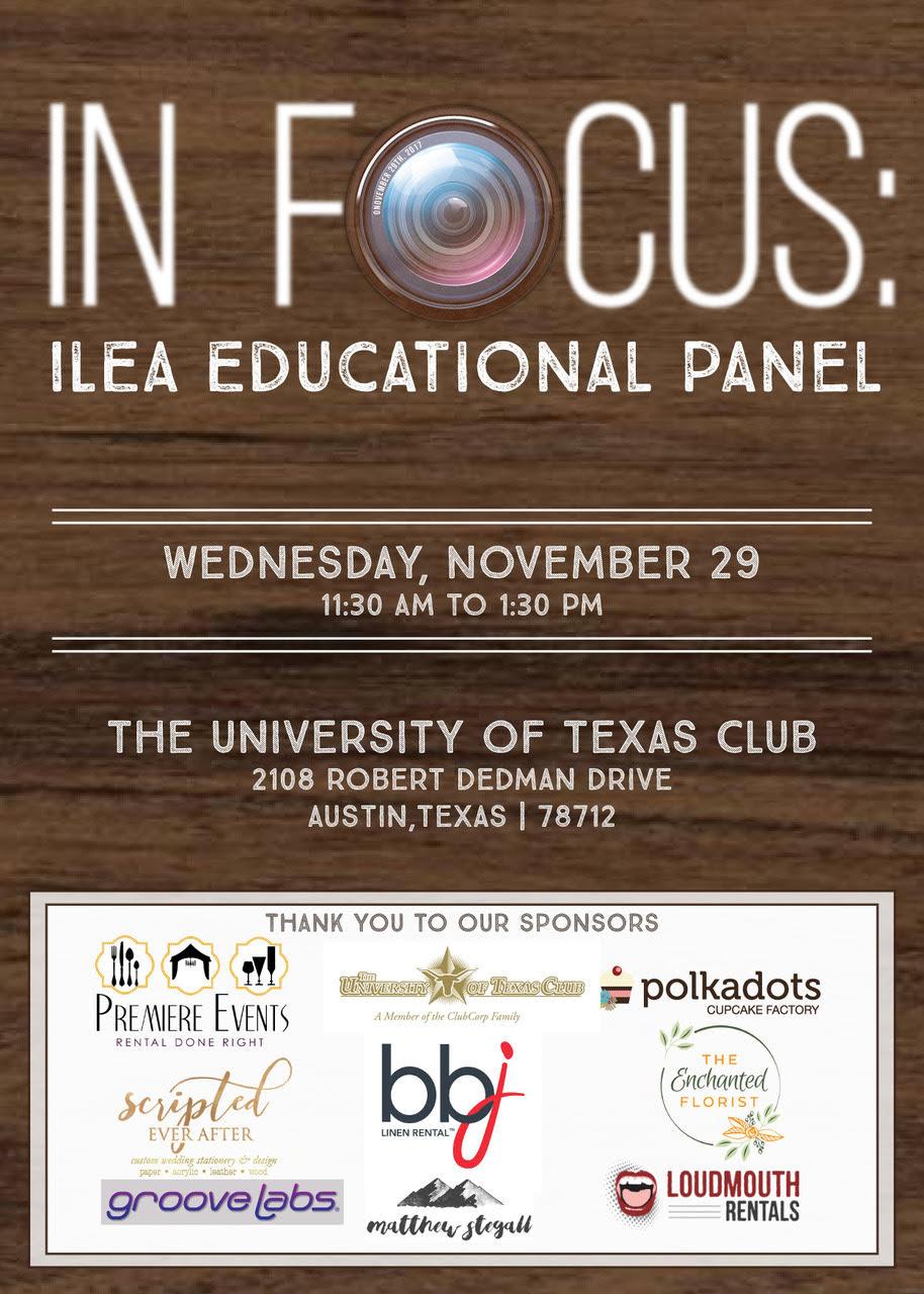 ILEA November meeting. Event Photography.