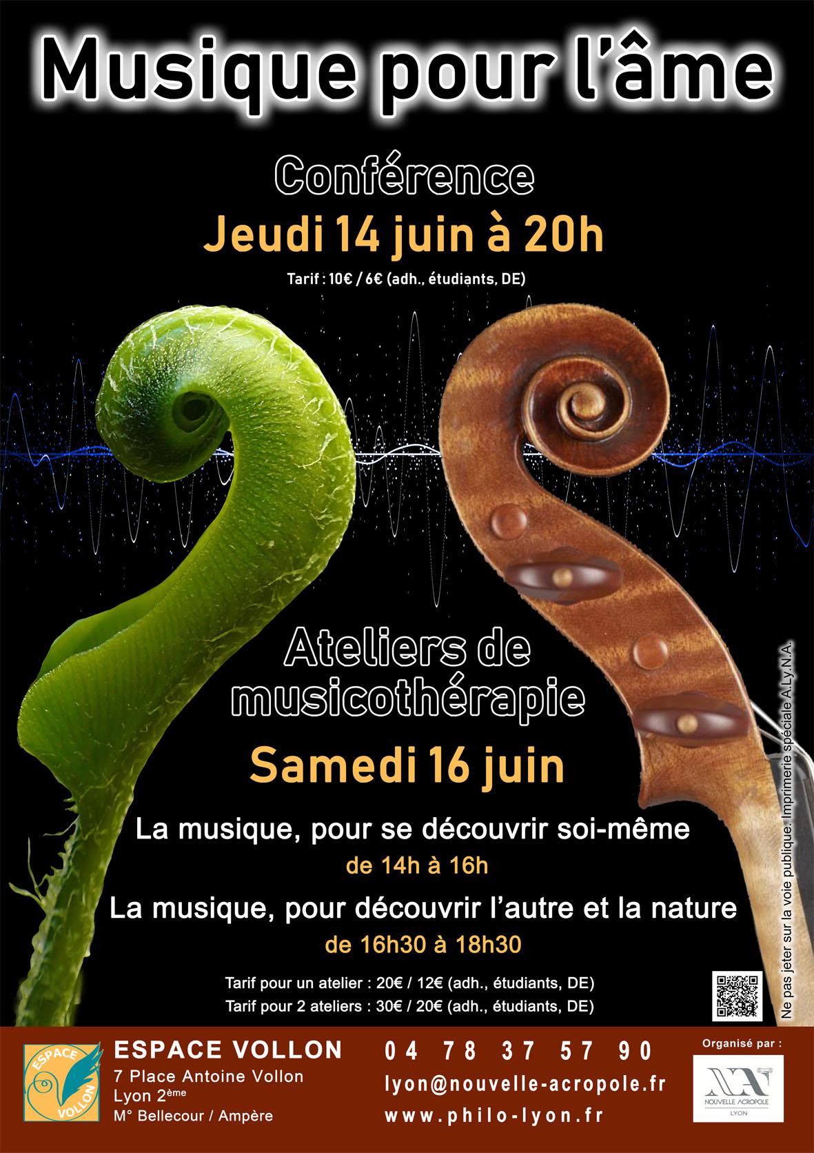 Nouvelle Acropole Lyon - Musicotherapie et eveil de l ame