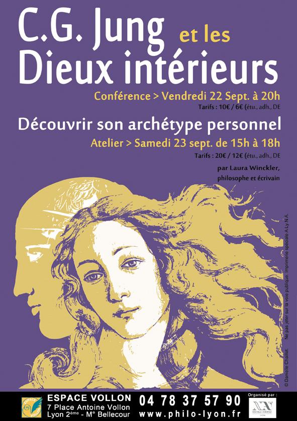 Nouvelle Acropole Lyon - conference CG Jung et les Dieux interieurs - archetypes personnels - Laura Winckler