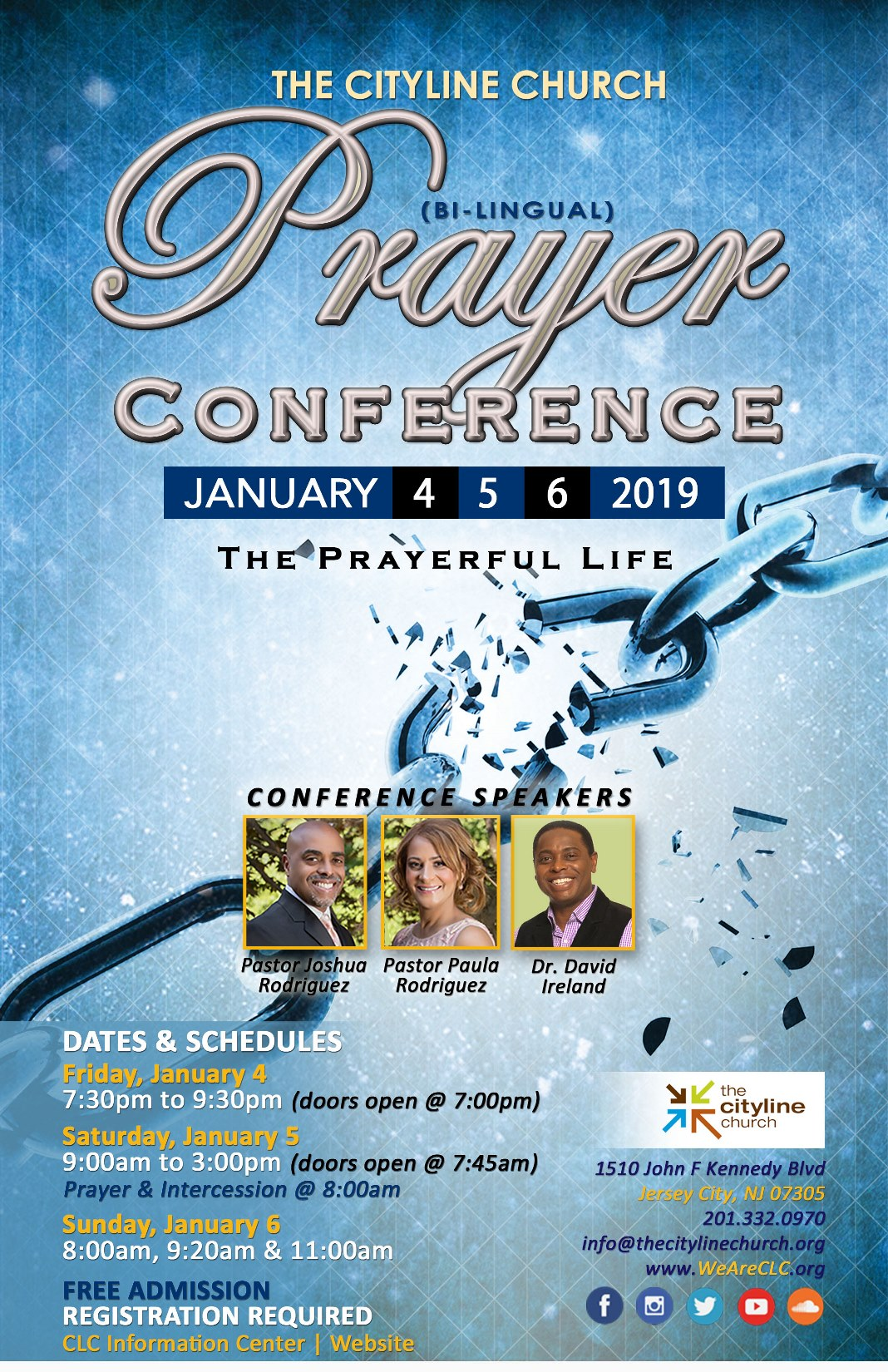 CLC Prayer Conference 2019 Flyer English