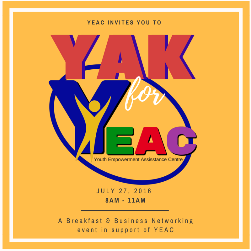 Yak for YEAC Invitation