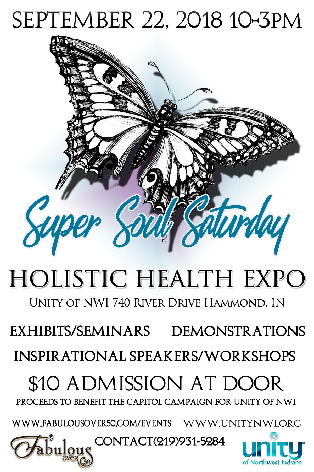 Super Soul Saturday flyer