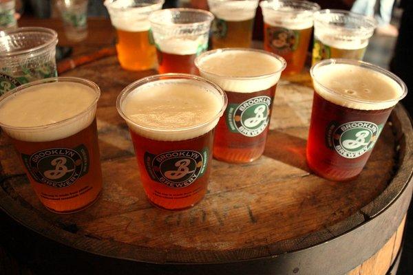 Brooklyn beers