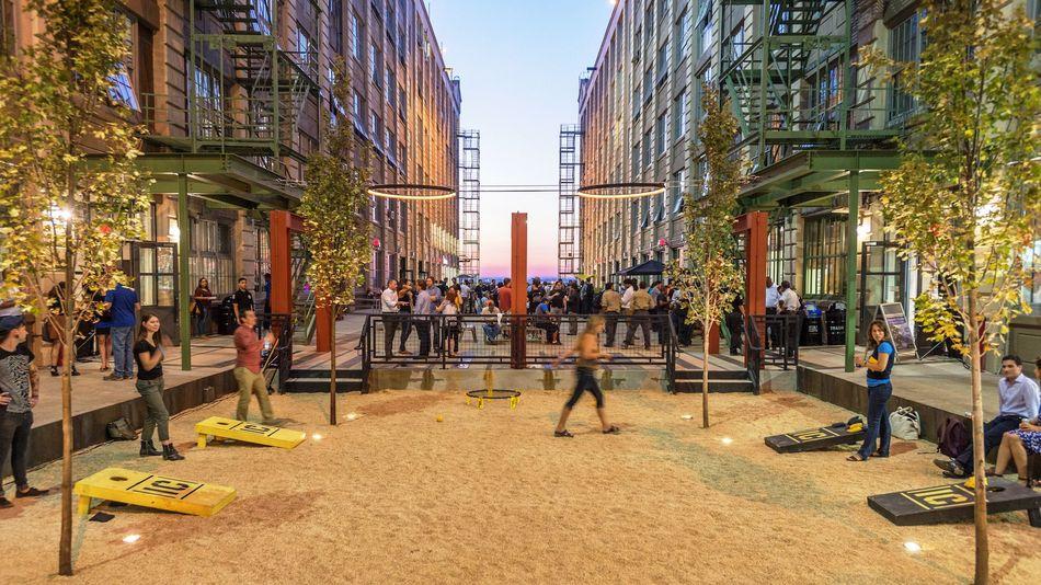 IC courtyard games