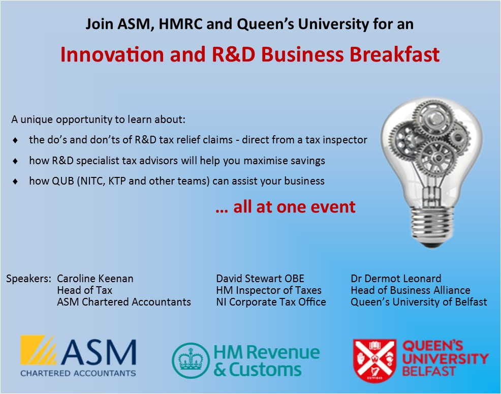 Innovation and R&D Business Breakfast