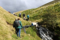 A visit to a hydro scheme is one of the many events on offer during Green Build Festival 2016