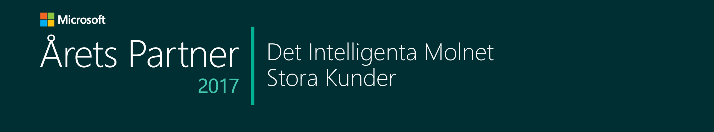 Årets Partner - Det Intelligena Molnet