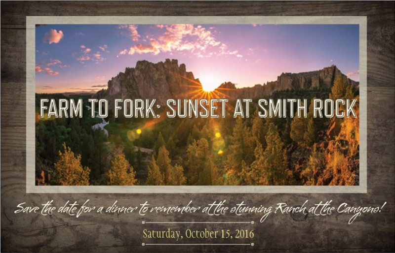 Farm to Fork Sunset at Smith Rock Image 2