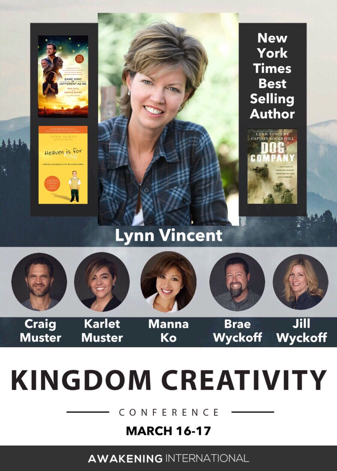 Kingdom Creativity Conference 2018 with Lynn Vincent