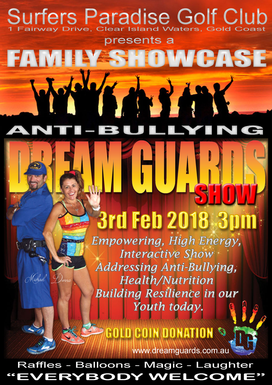 Anti-bullying Dream Guards Showcase Fundraiser