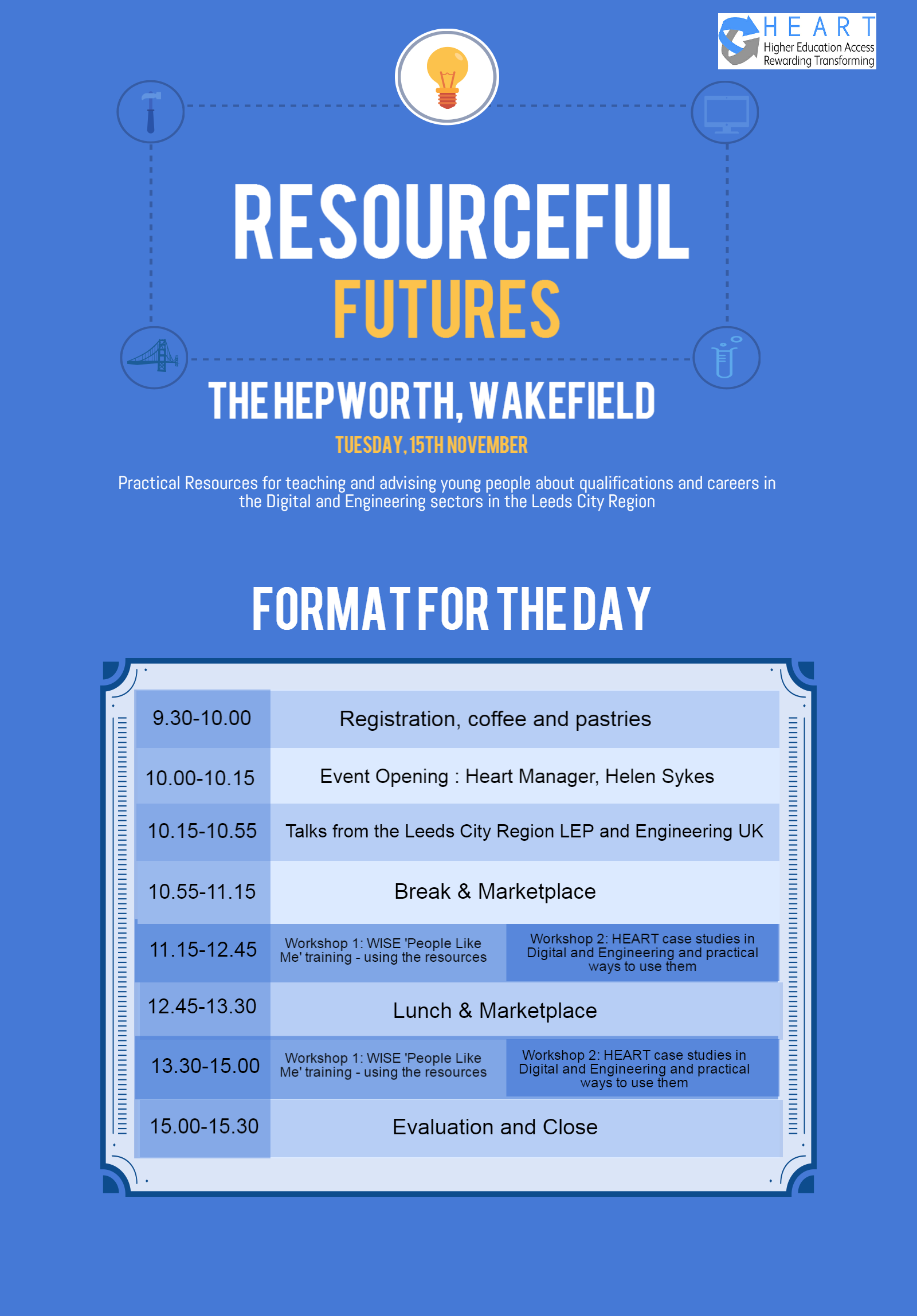 Agenda for the Resourceful Future day