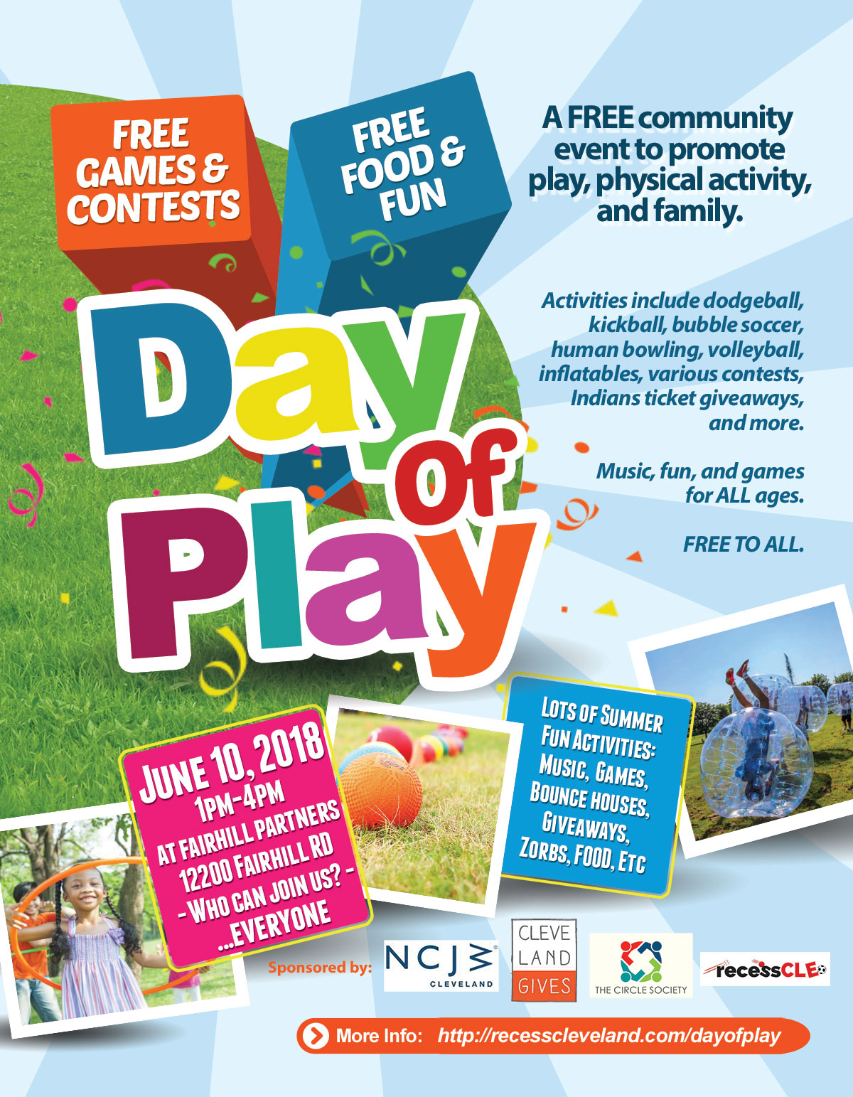 Recess Cleveland Day of Play