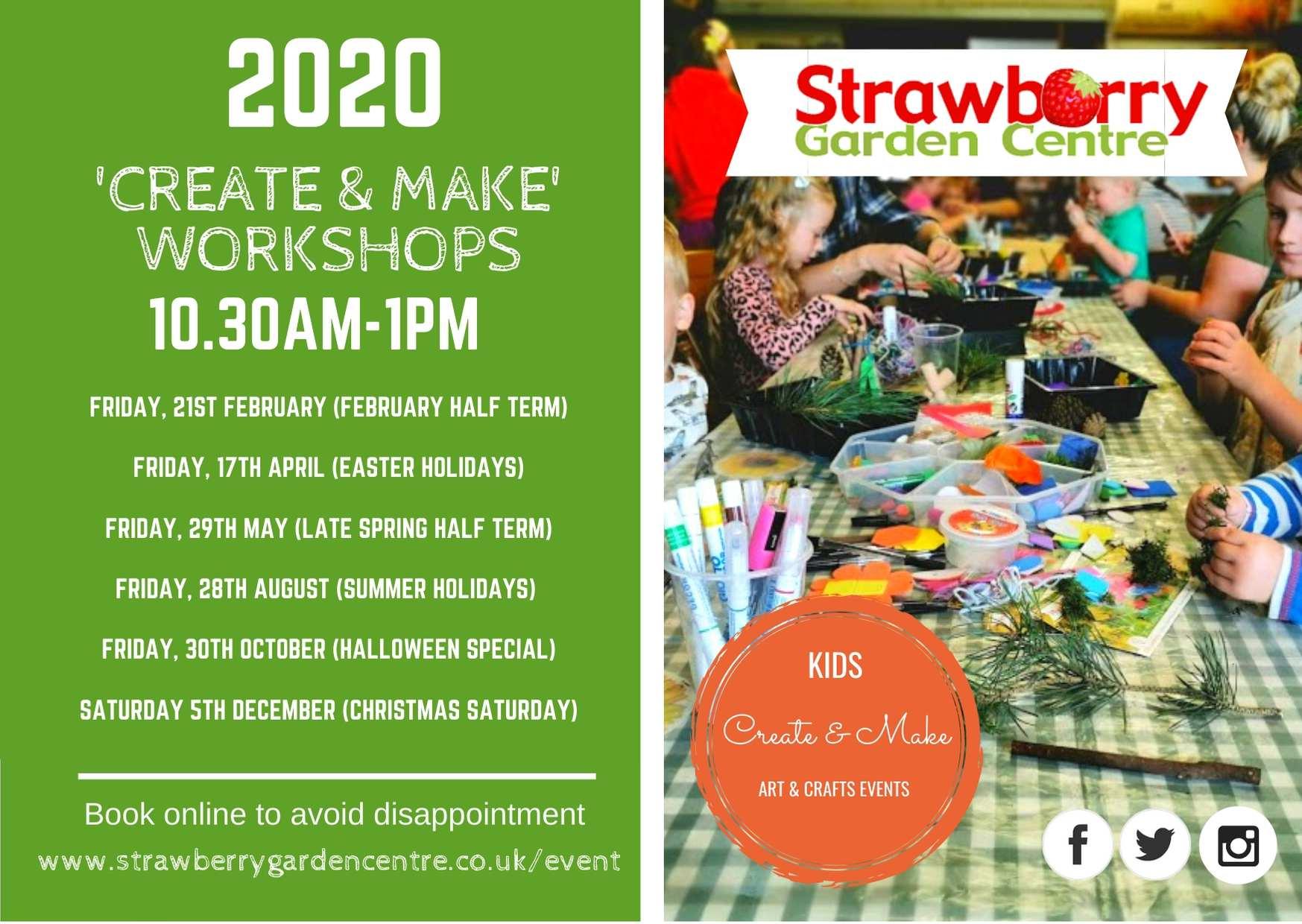 Little Gardeners: Create & Make 2020 Dates