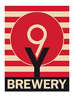 Nine Yards Brewery Logo