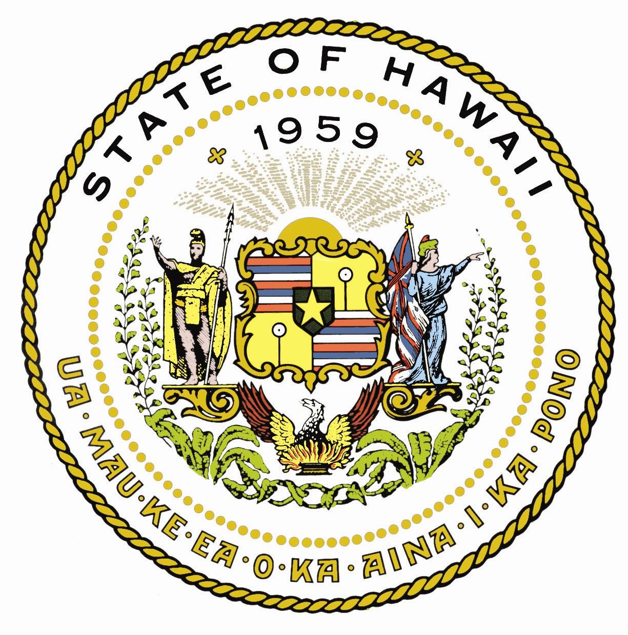 State of Hawaii seal-logo