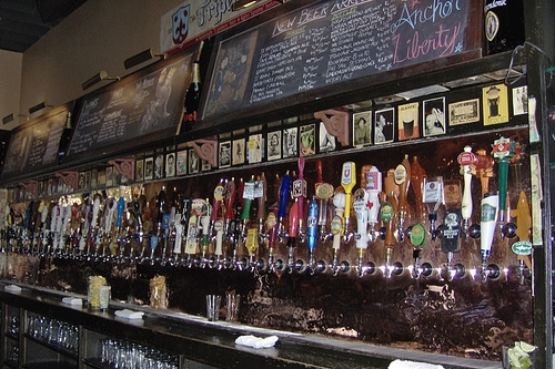 The Gingerman Beer Selectiona