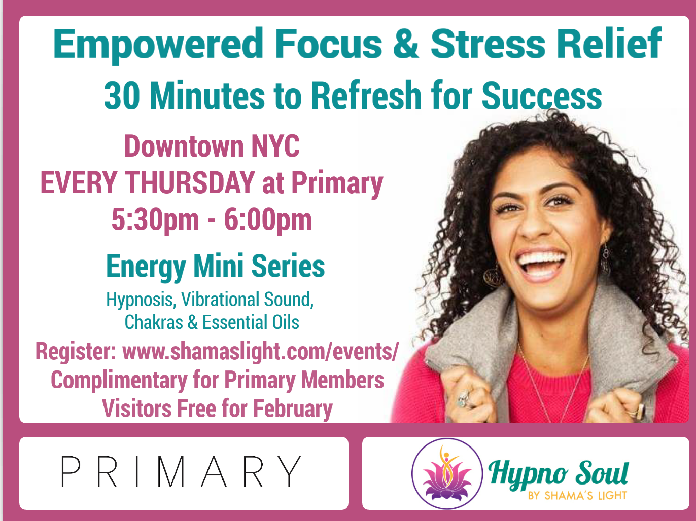 Hypno Soul Primary Mini Meditation Series