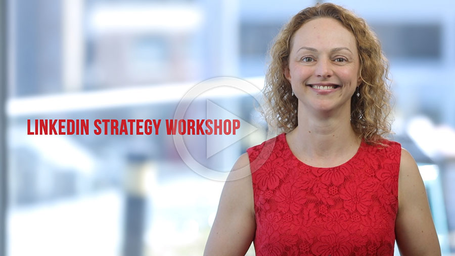 Find out about the LinkedIn training workshop in this video