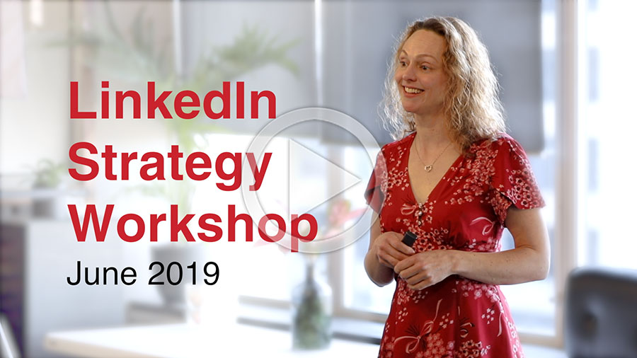 client testimonials from linkedin strategy workshop mwords