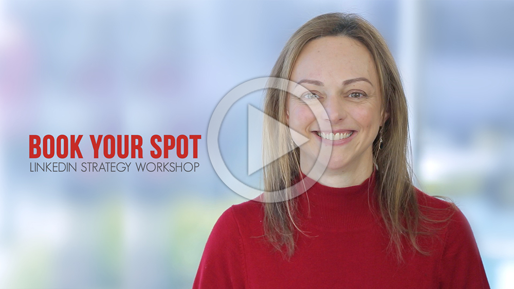 LinkedIn strategy workshop by mWords