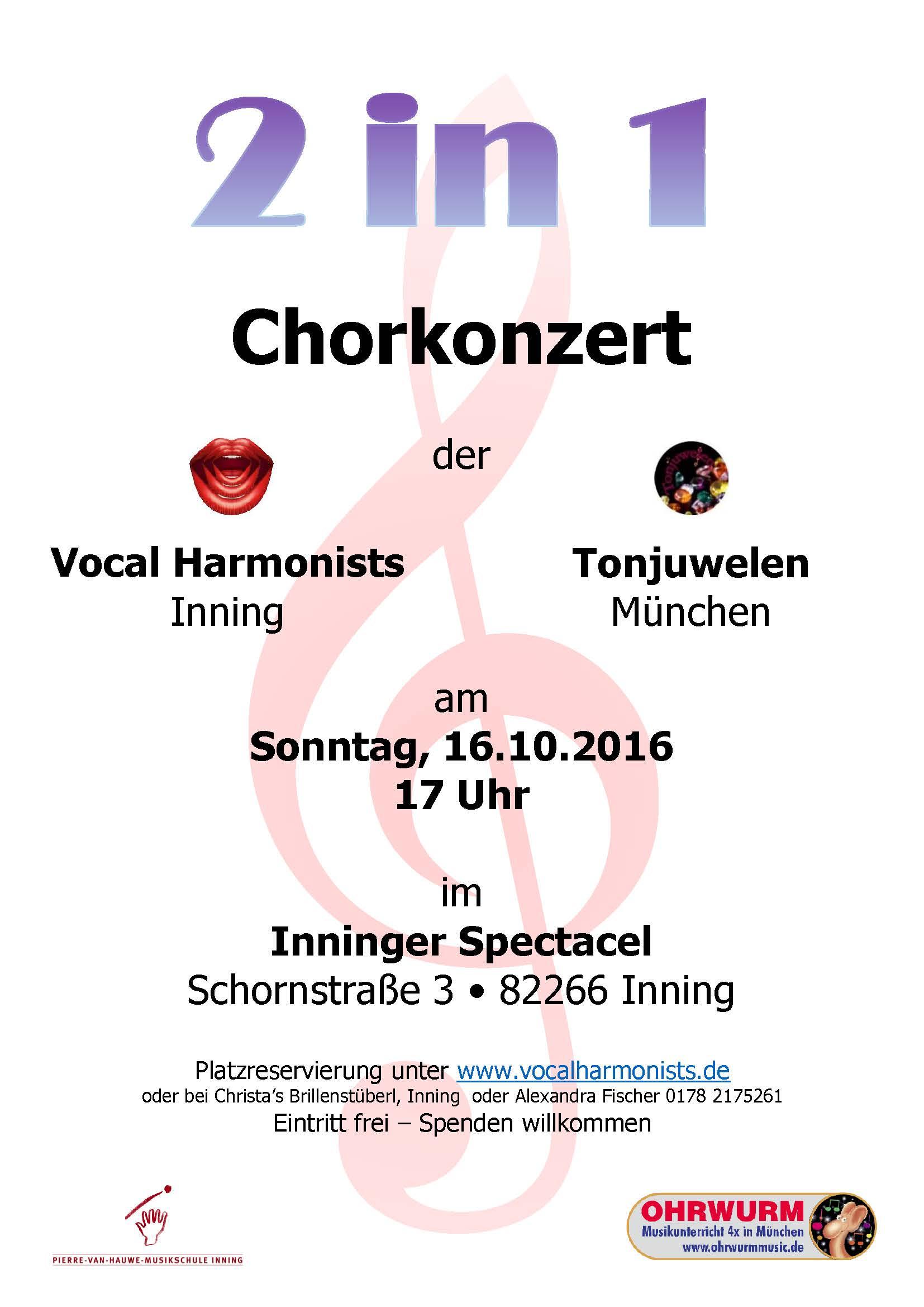 Chorkonzert 2016