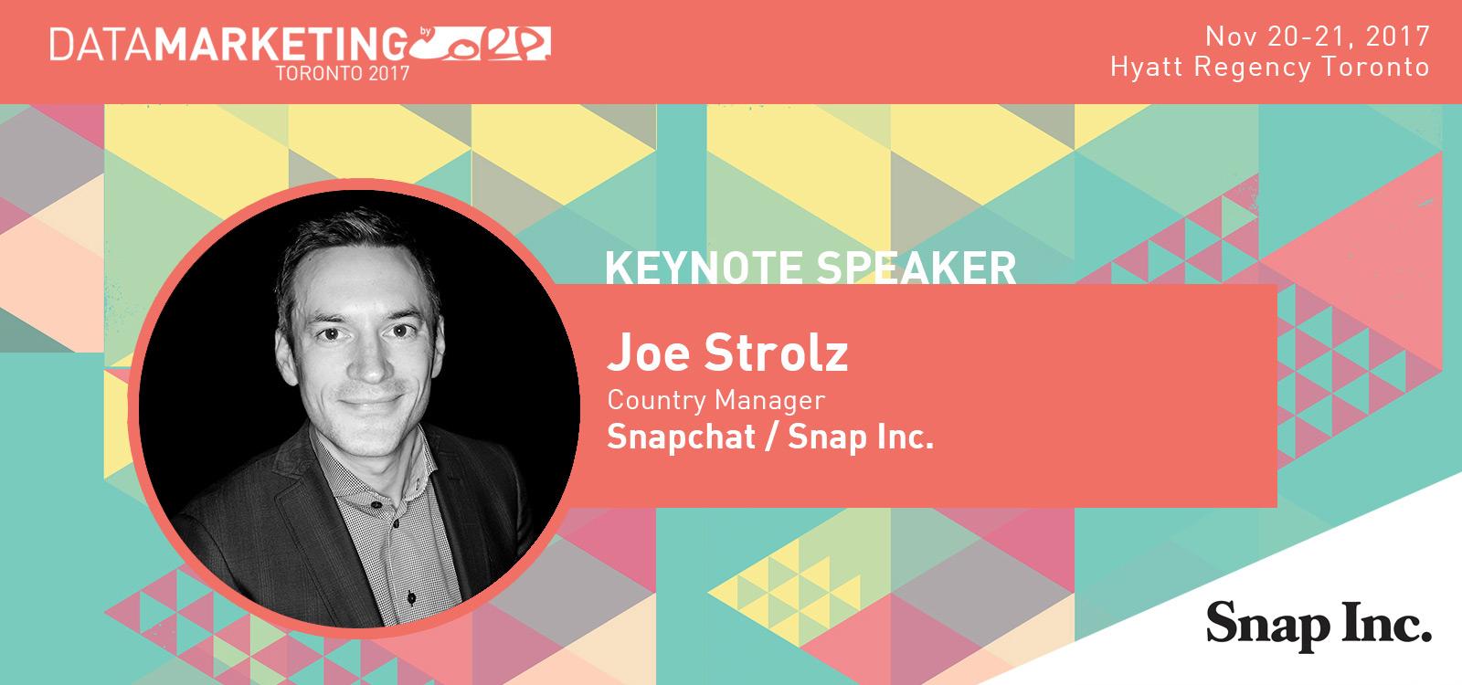 Joe Strolz Snapchat