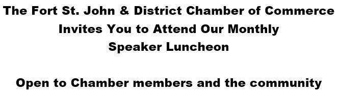 Chamber Luncheon @ Pomeroy Hotel