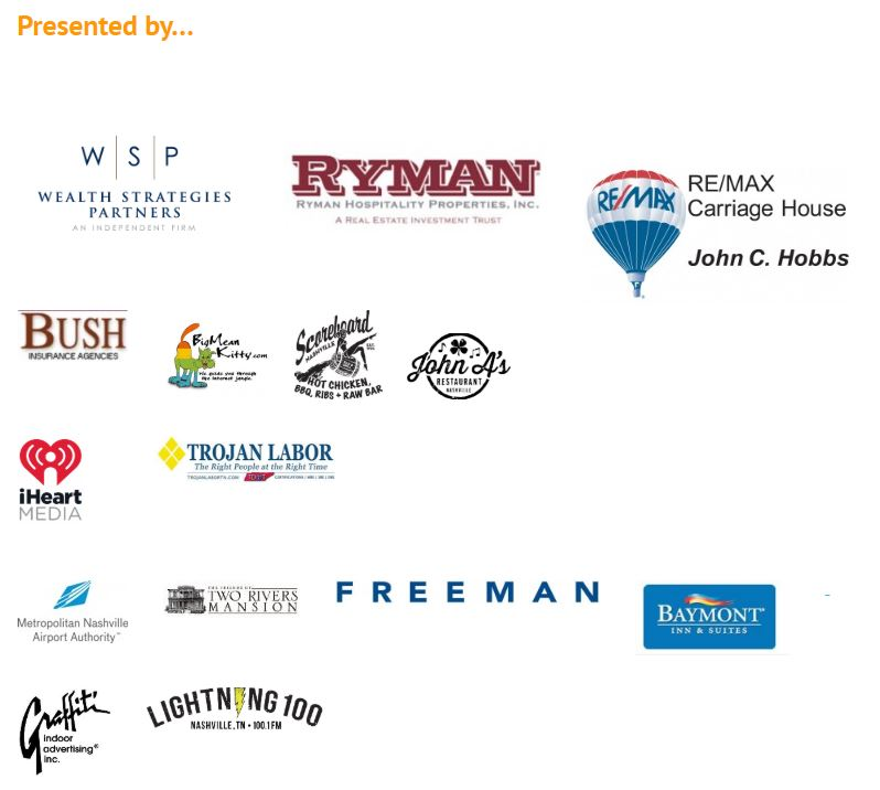 Sponsors of 2019 TN Beer and Wine Festival