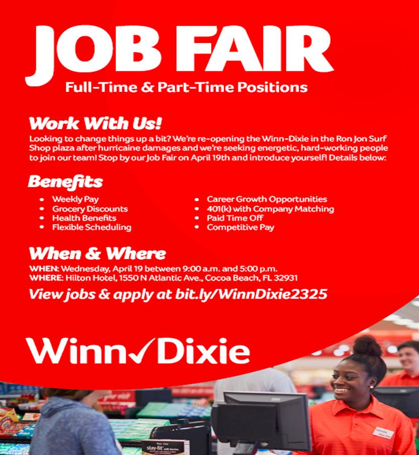 Winn Dixie Cocoa Beach Job Fair