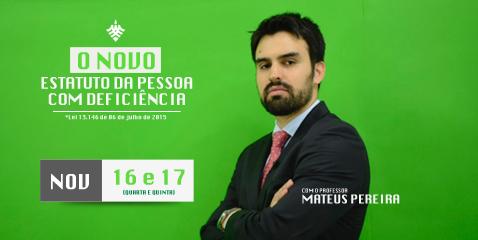 Professor Mateus Pereira
