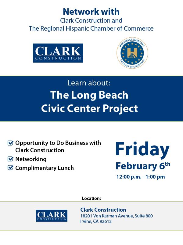 Clark Construction Networking Event