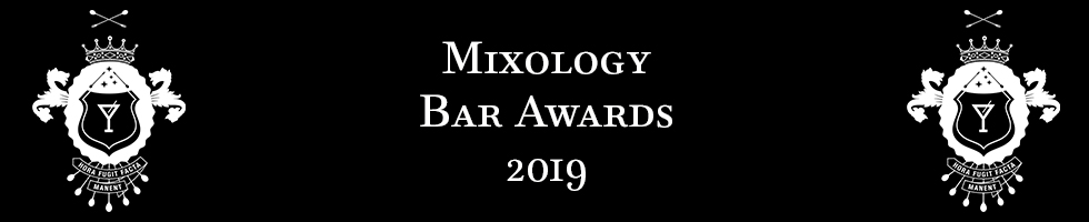 Mixology Bar Awards 2019