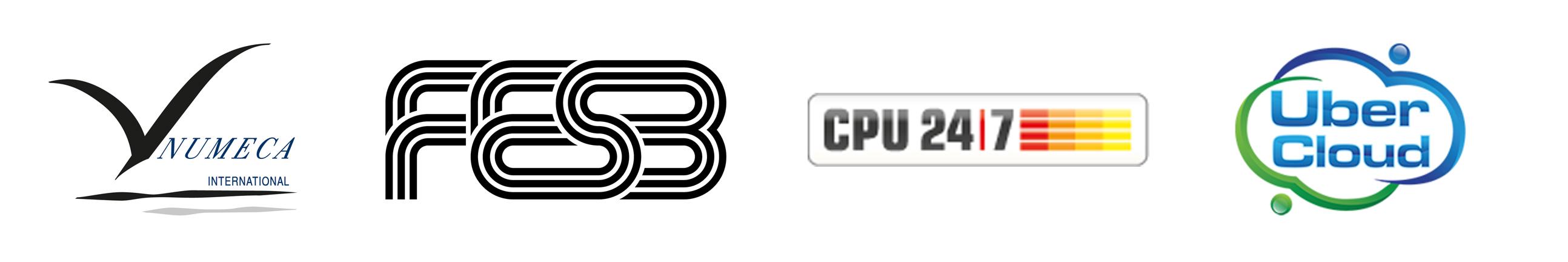 Logos Numeca FESB CPU247 Ubercloud