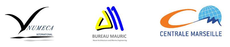 Logos Numeca - Bureau Mauric - Centrale Marseille