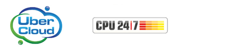 Logos UberCloud and CPU247