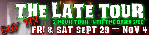 Greenville Ghost Tour Late Tour 8pm and midnight on Halloween