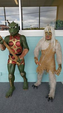 The Gorn and the Salt Vampire.