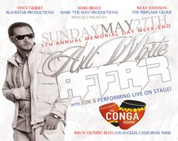 R&B SINGER JON B. LIVE @ THE CONGA ROOM  FOR THE 5TH ANNUAL...