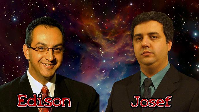 Edison Boaventura Jr. e Josef Prado