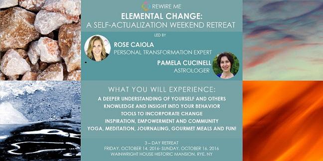 Rewire Me Through Elemental Change Workshop