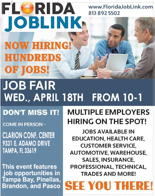 TAMPA CAREER FAIR FLYER