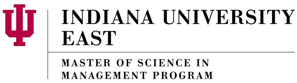 Sponsor: IU East Master of Science Management Program