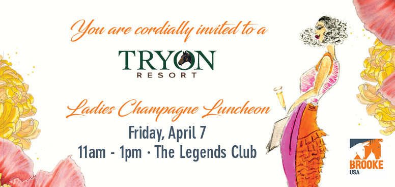 Ladies Champagne Luncheon at Tryon Resort