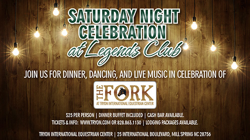 Saturday Night Celebration for The Fork Eventing Championship