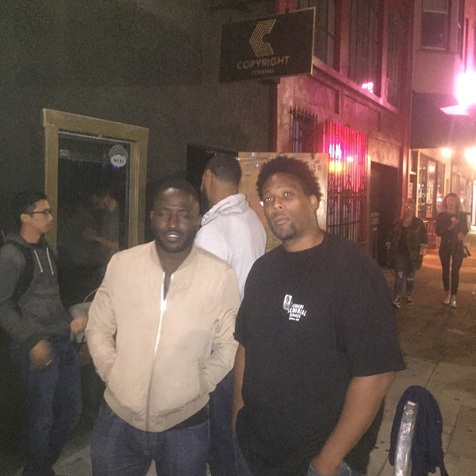 Hannibal Buress and Terry Dorsey Hanging after Craftwork Comedy