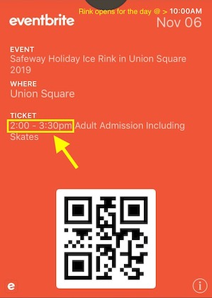 Apple Wallet Ticket